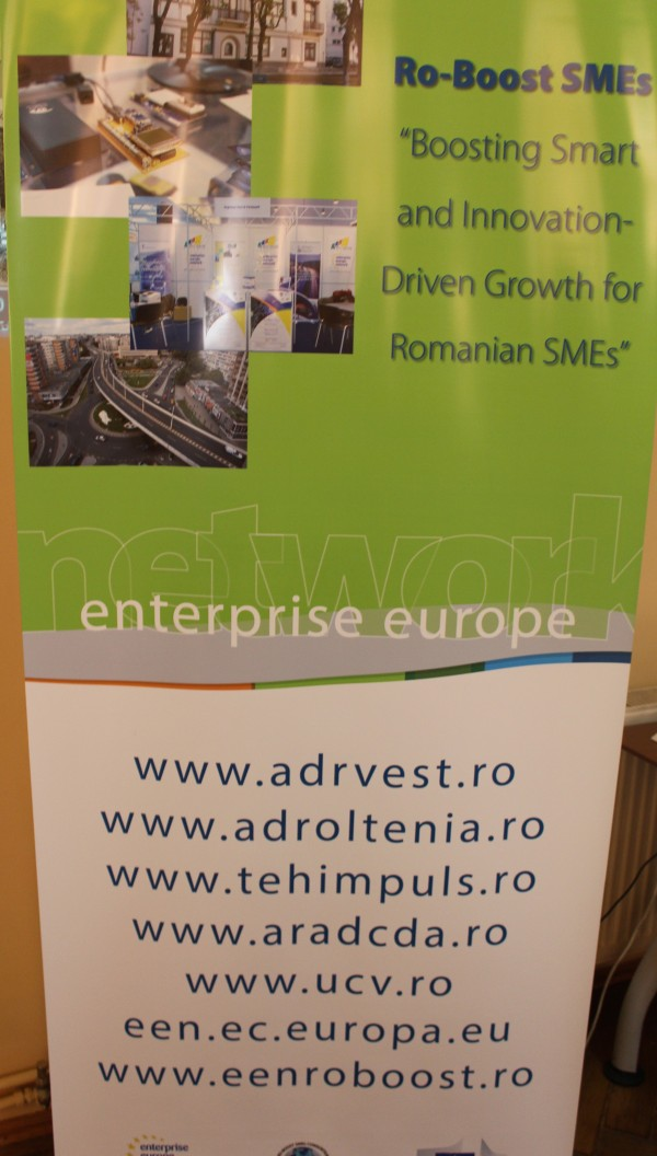 "Local event ""Support services for growing companies"", April 20, 2016, Timisoara"
