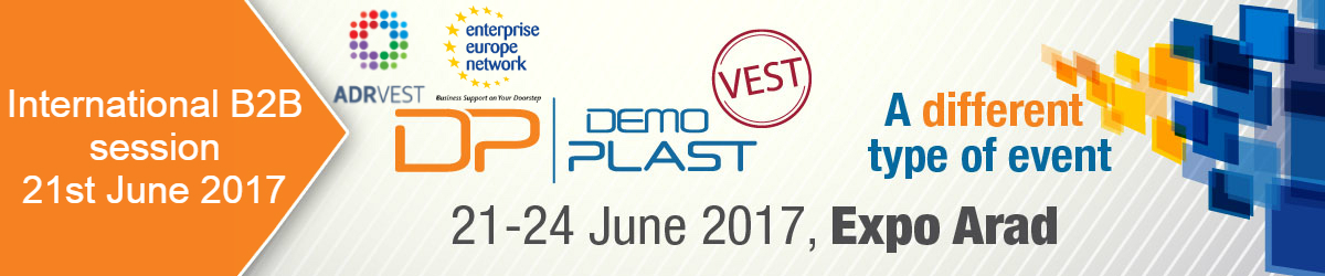 Eveniment de brokeraj international, Demo Plast Vest, 21 iunie 2017, Expo Arad