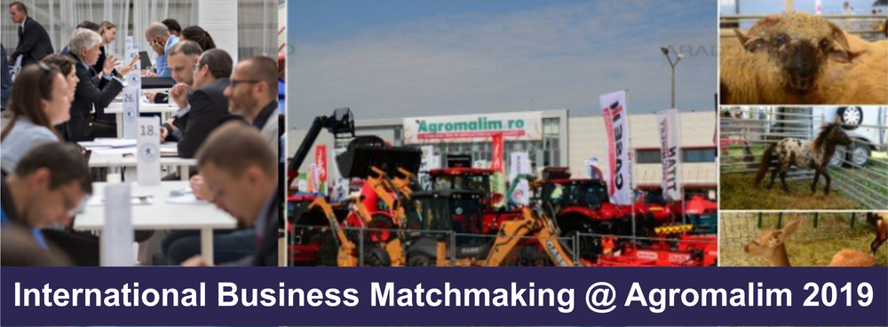 International Business Matchmaking @ AGROMALIM 2019